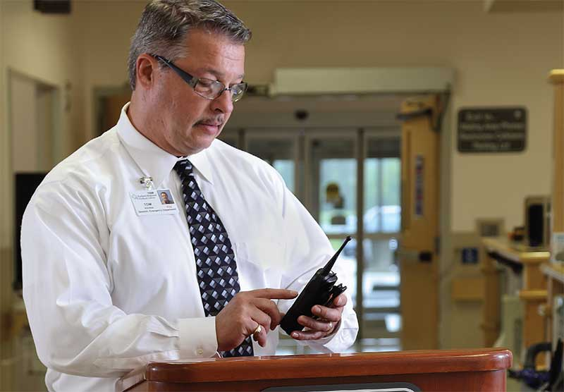 two-way radios for healthcare