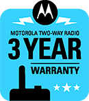 Motorola 3 year warranty