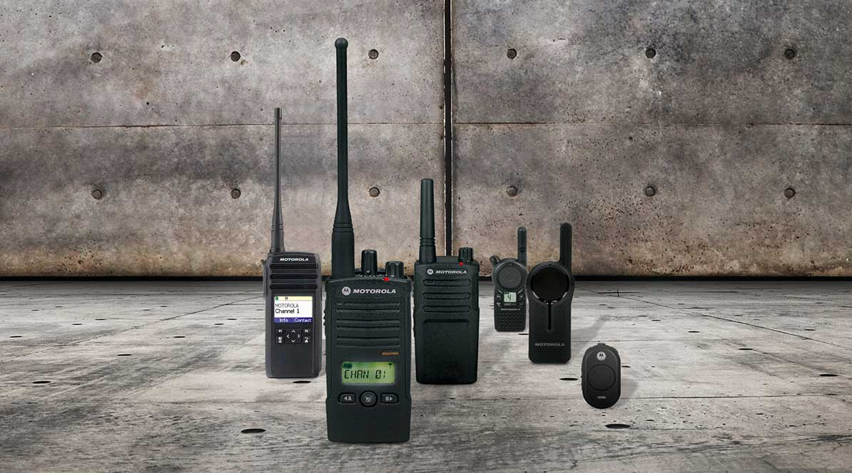 Motorola Business Two-Way Radios and Accessories – 1-800-422