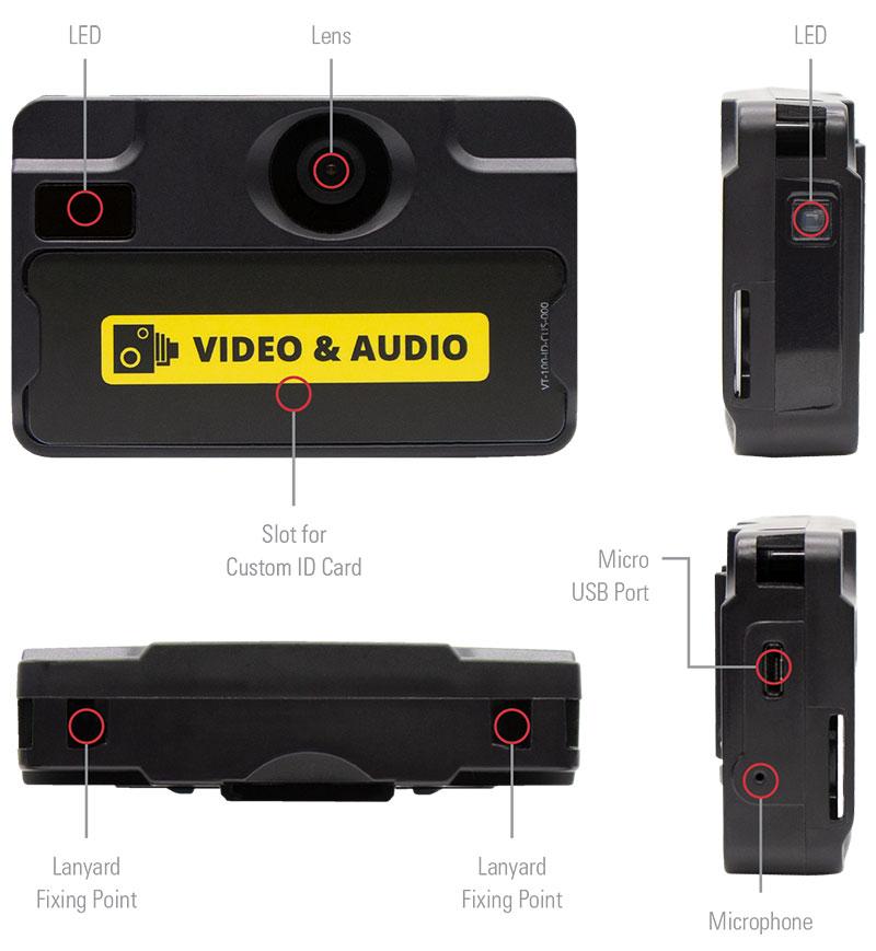 VT100 Mobile Body Camera